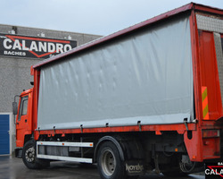 Bâches Calandro - Camions